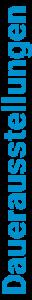 Logo der Dauerausstellungen im Museum Prora Zentrum bei Binz auf Rügen
