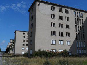 KdF-Gebäude Koloss von Rügen in Prora auf Deutschlands größter Insel an der Ostsee