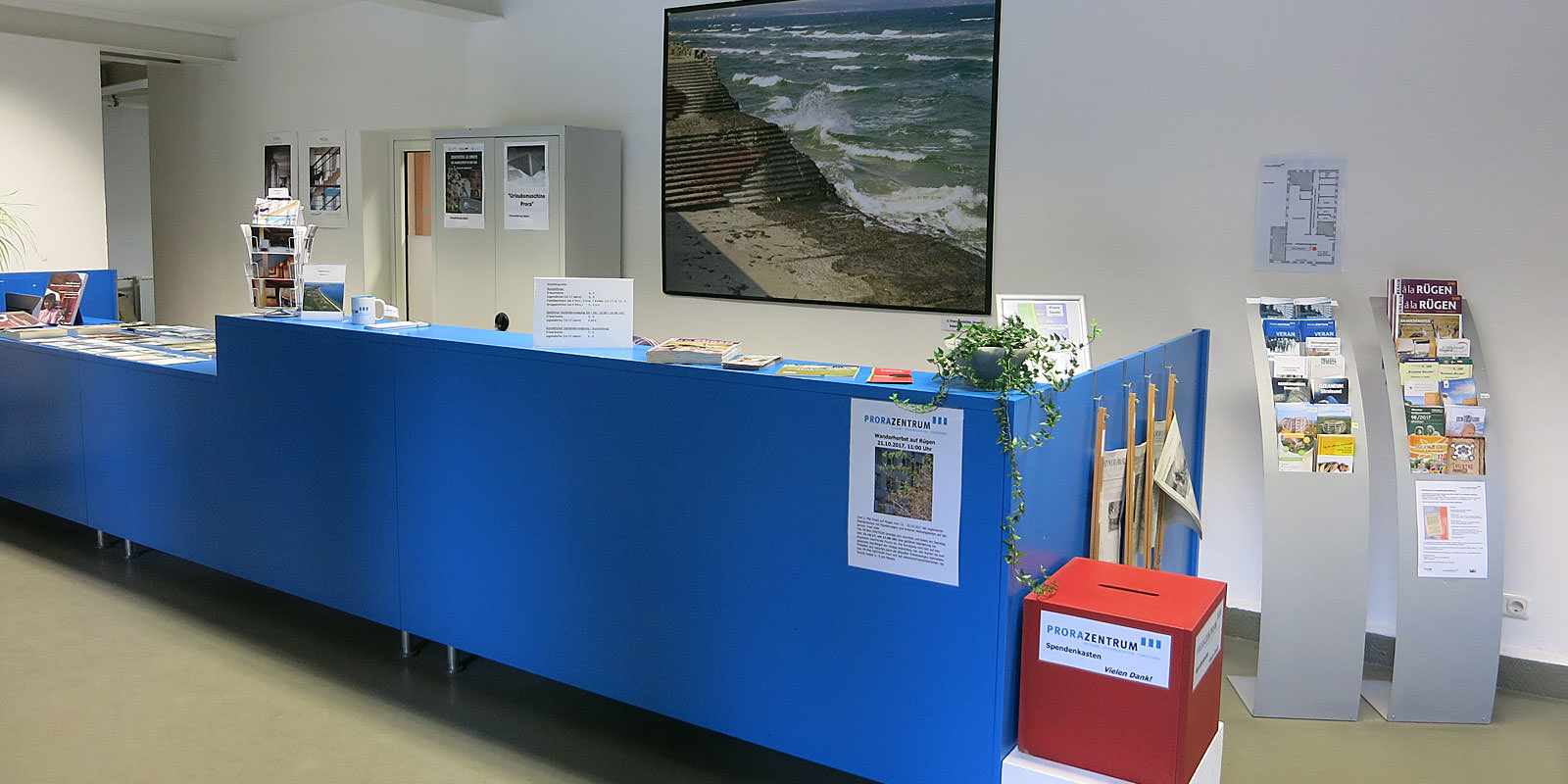 Informationen über Ausstellungen vom Museum Prora Zentrum im KdF-Gebäude beim Ostseebad Binz auf Rügen
