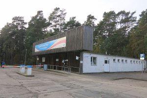 Außenansicht vom Museum Prora Zentrum an der KdF-Anlage bei Binz auf Rügen