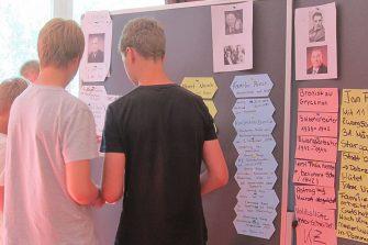 Schulprojekte des Prora Zentrums auf der KdF-Anlage in der Nähe von Binz auf Rügen