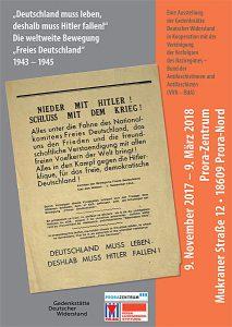 """Ausstellung der Gedenkstätte Deutscher Widerstand """"Deutschland muss leben, deshalb muss Hitler fallen"""" im Prora Zentrum auf Rügen"""