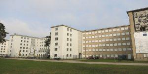 Museum im KdF-Gebäude von Prora beim Ostseebad Binz auf der Insel Rügen an der Ostsee