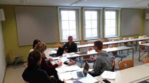 StudentInnen der Universität Greifswald