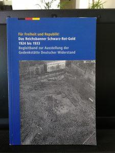 Katalog zur Ausstellung Reichsbanner